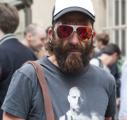 Mens Street Fashion and Facial Hair