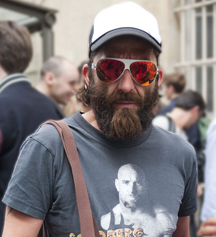 Mens Street Fashion and Facial Hair