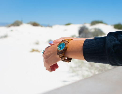 Jord Watch at White Sands National Monument