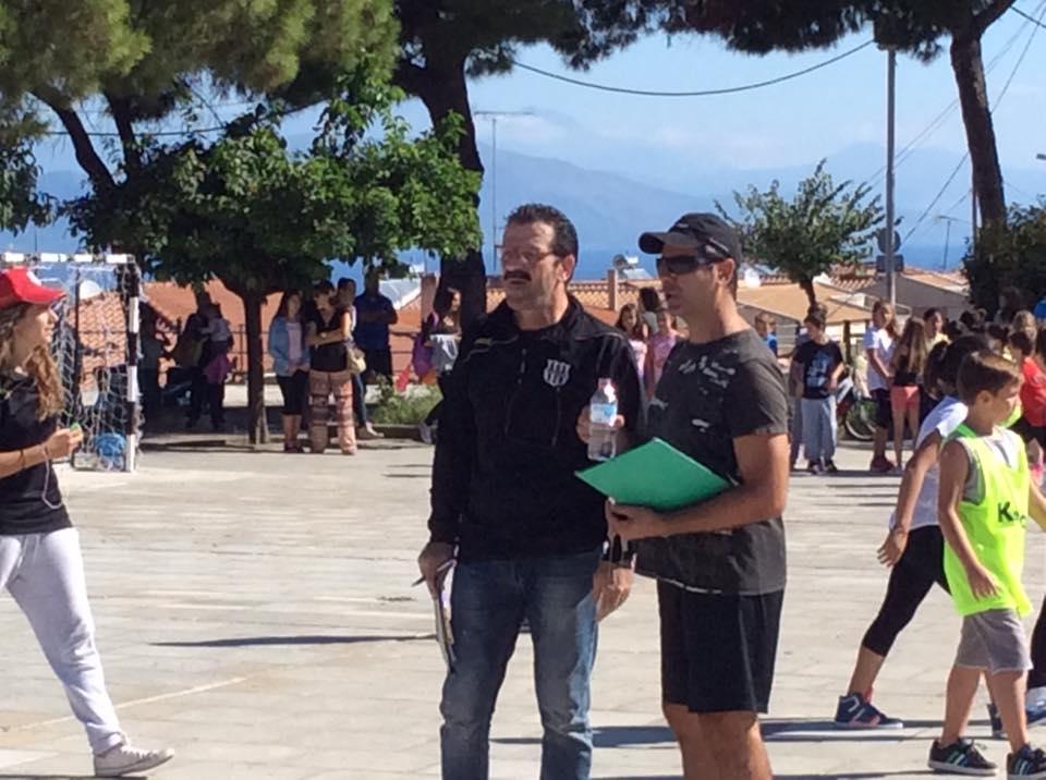 Greece Serifato Handball Club 500 children to Street Handball in the Square Psilalonia7