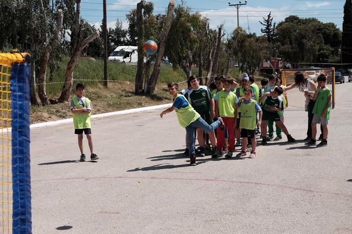 341 Greece 2nd Street Handball Διονύσου in Kryoneri9
