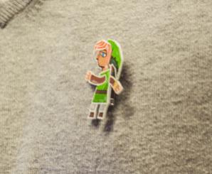 Zelda-Anstecker
