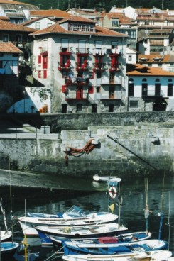 Mundaka harbour by Street Talks Savvy, Spanish Slang