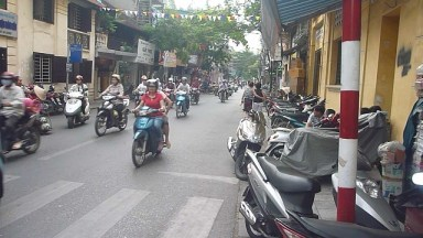 Hanoi Crazy Traffic