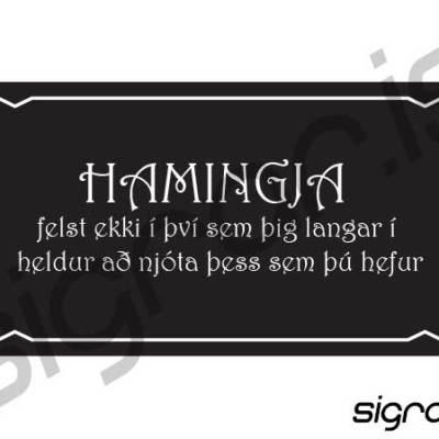 Hamingja