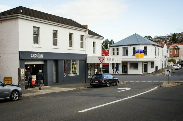 Capulus Espresso - Corner of Tasma and Elizabeth streets