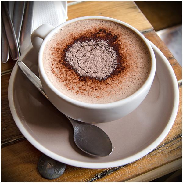 Hot chocolate @ Pollen Tea Room