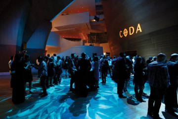 A CODA post-concert party held after the Beethoven & Strauss program at Walt Disney Concert Hall's BP Hall in Los Angeles.
