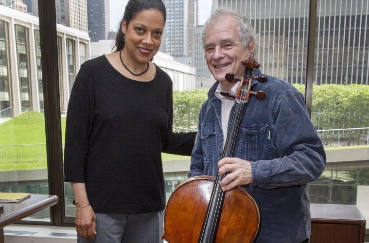 Joel Krosnick and Astrid Schween