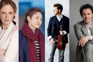 4 Soloists to Conductors: Julian Rachlin, Gemma New, Eric Jacobsen and Han-Na Chang