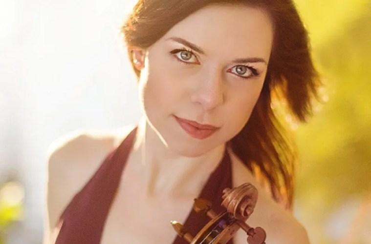 Violinist Tessa Lark