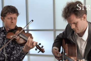 Tim Kliphuis Sam Miltich Strings Sessions Violin Jazz Gypsy