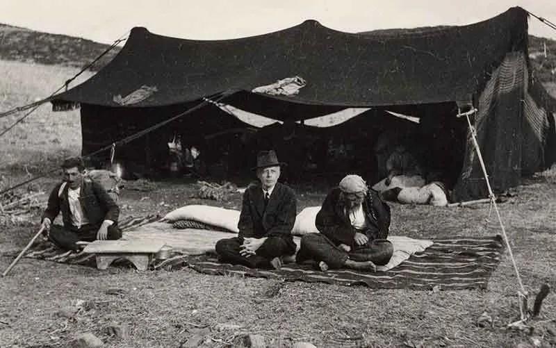 Composer and ethnomusicologist Béla Bartók in Anatolia (modern-day Turkey)