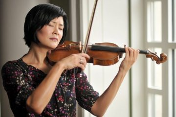 Violinist Jennifer Koh performs music by Kaija Saariaho