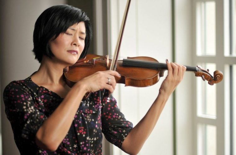 Violinist Jennifer Koh performs music by Kaija Saariaho