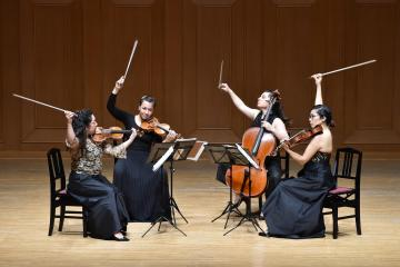 Aizuri String Quartet wins grand prize at M-Prize
