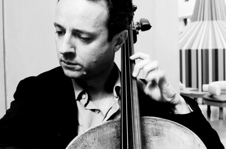 Cellist Marc Coppey
