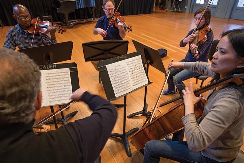 Crowden's Adult Chamber Music program