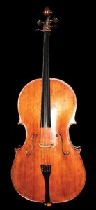 Yo-Yo Ma's principal instrument is a Montagnana cello built in 1733 photo: Wiqan Ang
