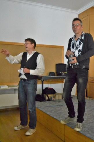 Herbert Gruber und Dirk Scharmer