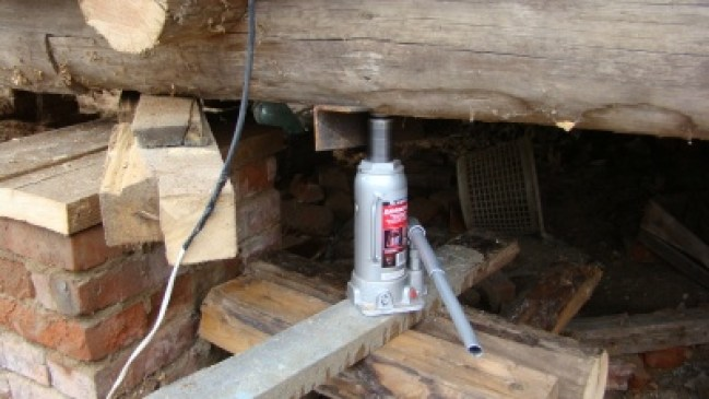 Замена венцов деревянного дома своими руками видео
