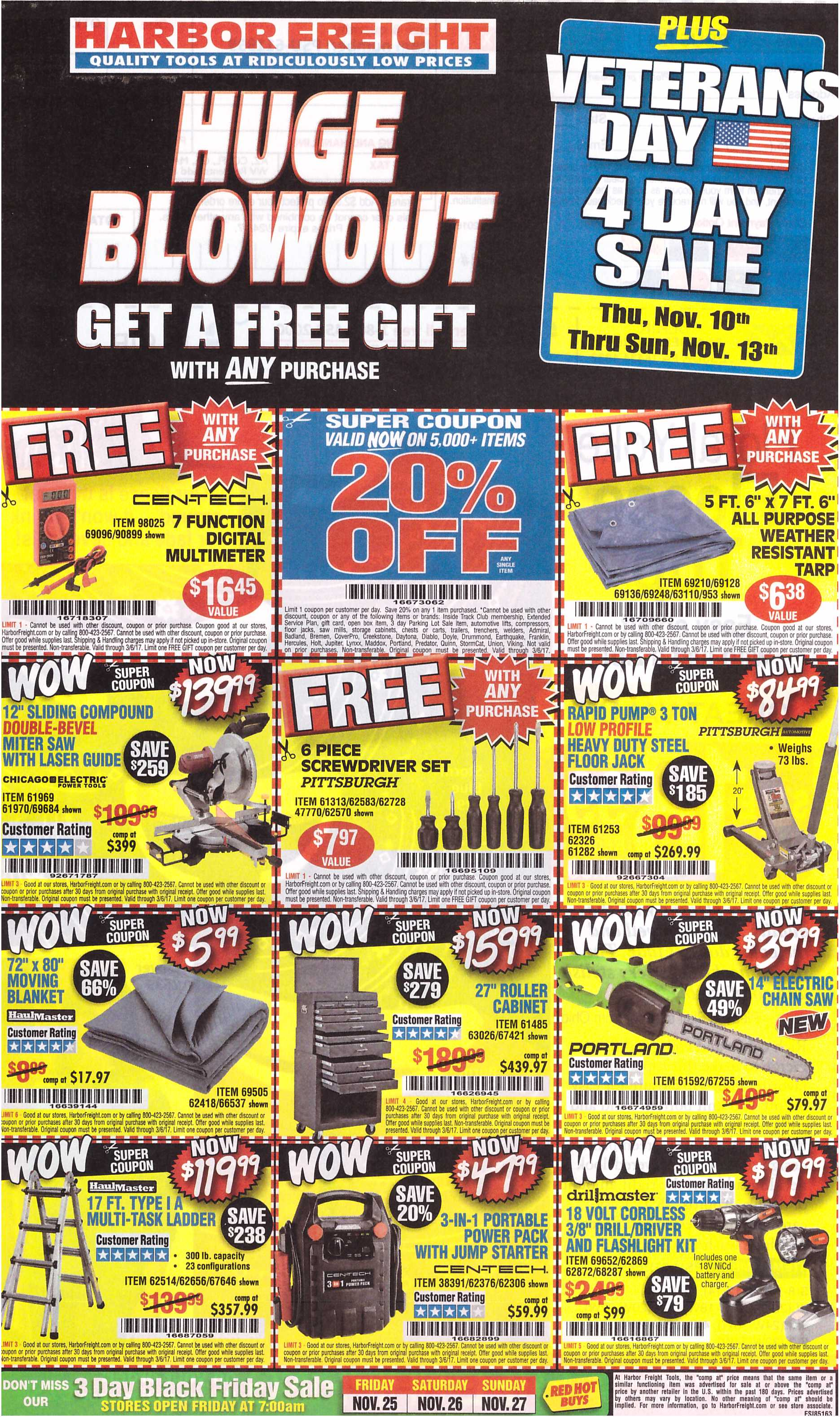 Harbor Freight Coupons Expiring 3/6/17 - Struggleville