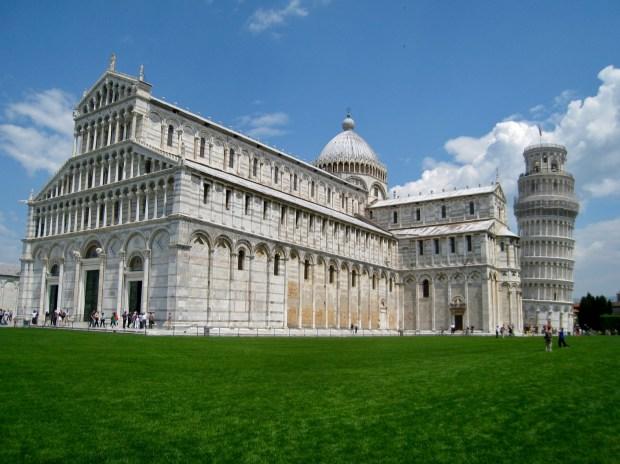 leaning tower of pisa, piazza del duomo, pisa, italy, italia, UNESCO