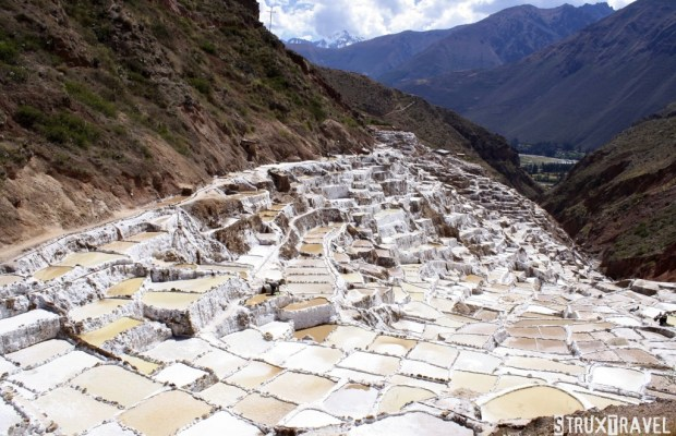 Tucked away in a deep canyon in Peru's Sacred Valley are the Maras salt flats (Salineras de Maras). Only about 25 miles (40 km) north of Cuzco, the only access to the area is via a treacherous dirt roadway…without any guardrails! If you can white-knuckle the trip down however, it's well […]