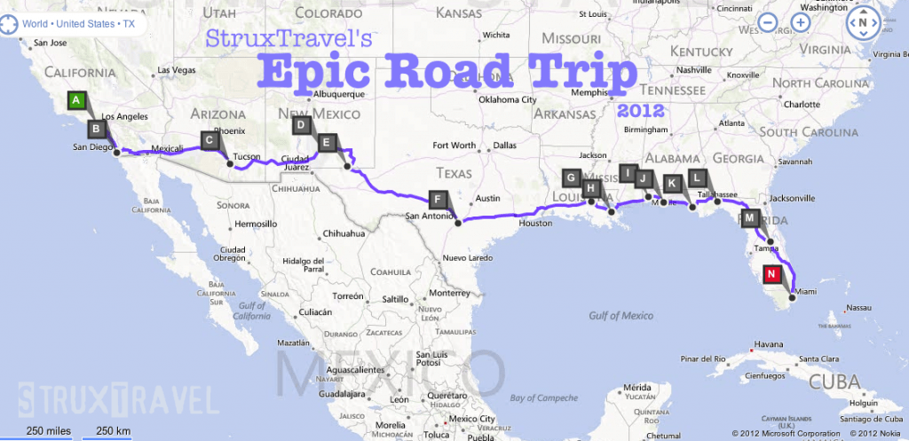 Struxtravel S Epic Road Trip