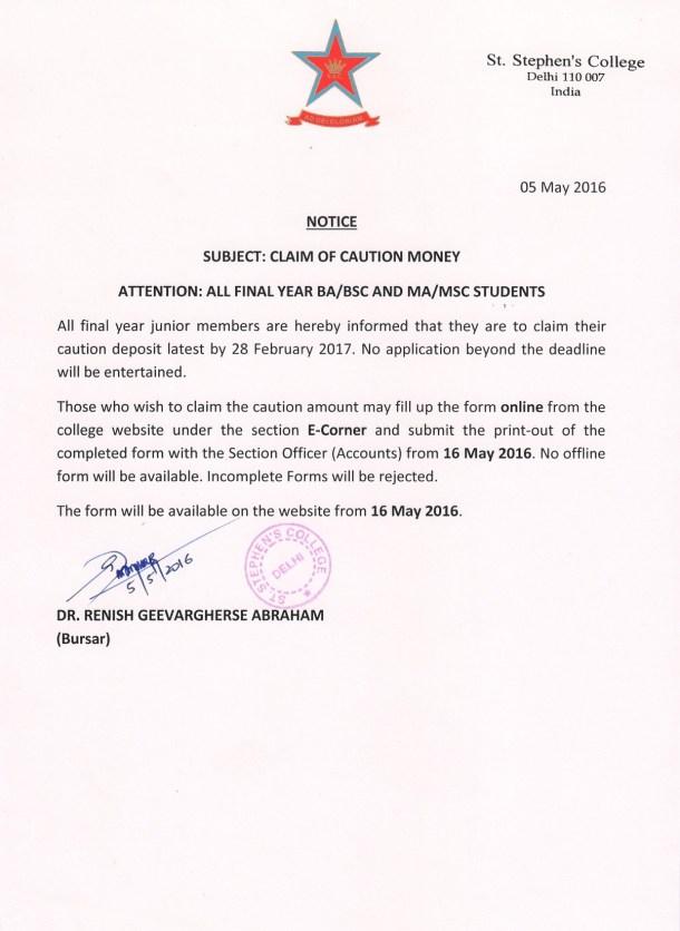CAUTION MONEY