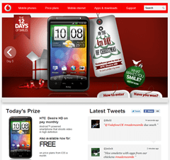 Vodafone the 12 days of smiles #itmademesmile