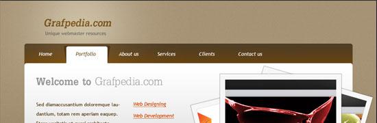 grafpedia-wordpress-portfolio-layout