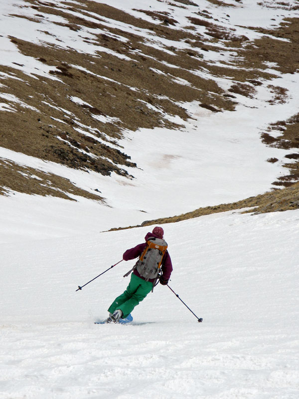 14er Ski Descents – Mount Bross – April 25, 2009