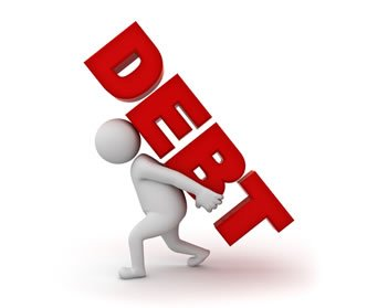 Debt Photo from Shutterstock.com