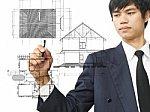 businessman_write_home_plan