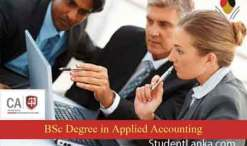 BSc applied accounting