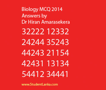 AL-Biology-Answers-MCQ-2014-Dr-Hiran-Amarasekera