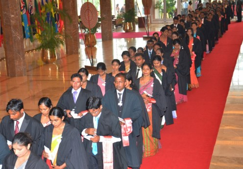 External Degree Convocation of University of Sri Jayewardenepura @ BMICH