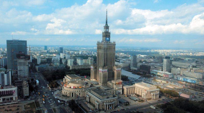 Дворец науки и культуры в Варшаве