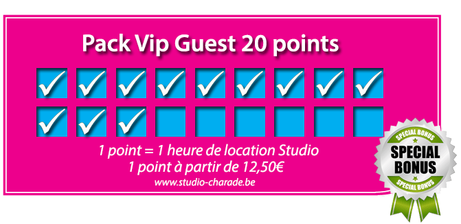 Pack Vip Guest 20