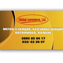 Global commerce Business Card