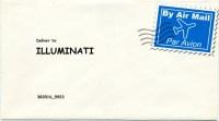 Illuminati sample envelope with current P_Code