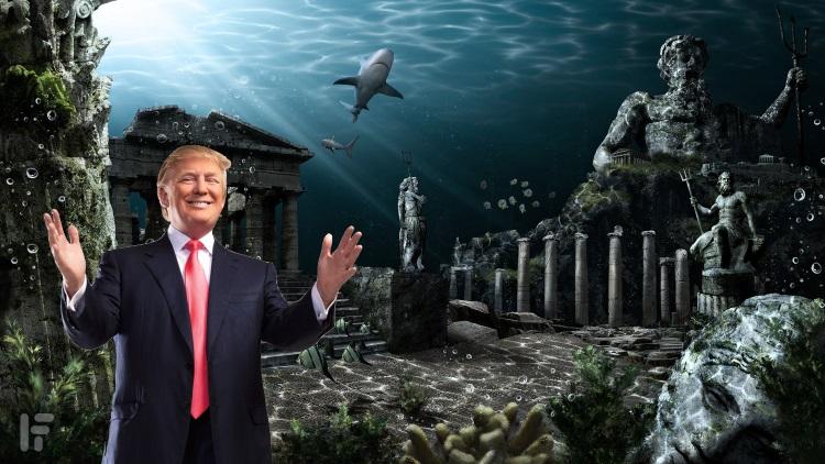 Donald Trump and Atlantis