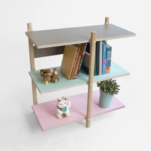 F02 basic Stack shelf 2016 studio lorier modular shelf changable furniture