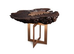 Grand Burl Wood Side Table Burl Wood Side Table Studio Roeper Wood Side Table Drawers Wood Side Table