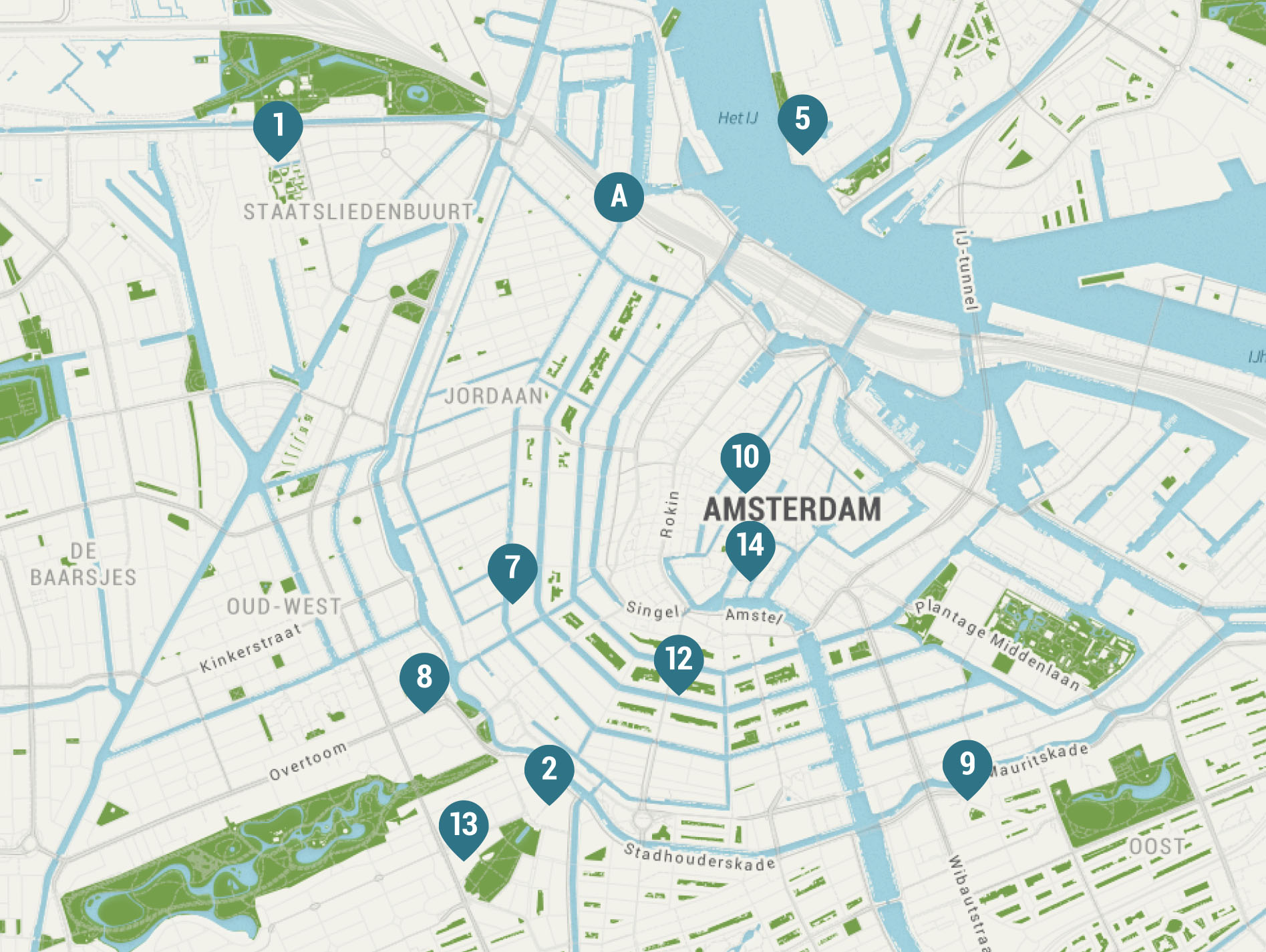 Travel Guide Amsterdam cate st hill – Amsterdam Travel Map