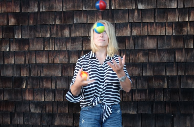Get to Know Anna Fountain, the Amazing Juggling Woman