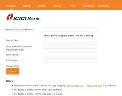 ICICI Bank Home Loan Statement - Page 6 - 2018-2019 ...