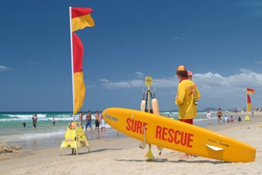 ACA05X Lifeguards, Surfers Paradise beach, Queensland, Australia