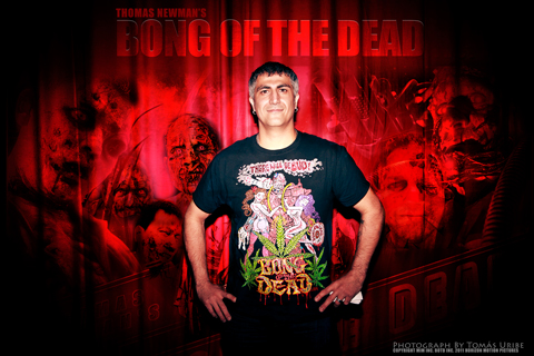 Thomas Newman of Bong of the Dead
